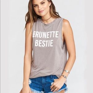 Show Me Your Mumu Andrew Tank - Brunette Bestie